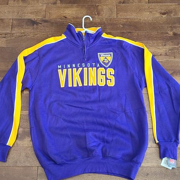 Minnesota Vikings NWT zip up sweatshirt